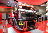 Renault Racing Truck at the International Motor Show — Stock Photo