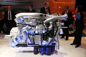 New Paccar Truck Engine at the International Motor Show — Stock Photo