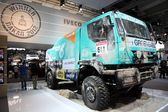 Iveco Rally Dakar Racing Truck — Stock Photo