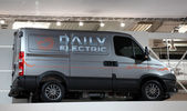 Iveco Daily Electric Van at the International Motor Show — Zdjęcie stockowe