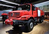 Mercedes Benz Zetros Fire Engine — Stock Photo