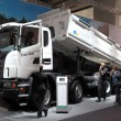 New Scania Dump Truck — Stock Photo