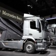 Stock Photo: New Mercedes Benz Actros Trucks