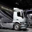 New Mercedes Benz Actros Trucks — Stock Photo