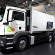 MAN Serial Hybrid Garbage Collection Truck — Stock Photo