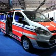 Stock Photo: New Ford Transit Custom Van