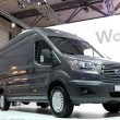 Stock Photo: New Ford Transit Vat International Motor Show