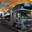 Stock Photo: Mercedes Benz Actros Sirio Car Transporter