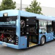 Solbus powered by LNG Natural Gas — Stock Photo
