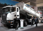 Nuovo camion scania — Foto Stock