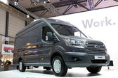 New Ford Transit Van at the International Motor Show — Stock Photo