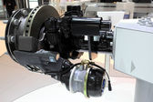 Knorr front axle brake system for trucks — Stock Photo
