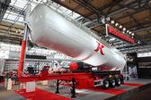 Kassbohrer trailer at the International Motor Show — Stock Photo