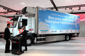 Renault Electric Truck at the International Motor Show — Stock Photo