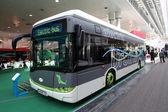New Solaris Urbino 12 Electric Bus — Stock Photo
