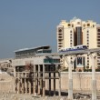 Stock Photo: Trump Tower construction site at Palm Jumeirah in Dubai, UAE