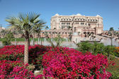 The Emirates Palace in Abu Dhabi, United Arab Emirates — Stock Photo