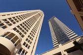 Gratte-ciel de dubaï, émirats arabes unis — Photo
