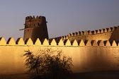 Al Jahili fort in Al Ain, Emirate of Abu Dhabi — Stock Photo