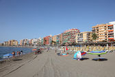 Beach in Fuengirola, Andalusia Spain — Stock Photo