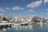 Marina in La Duquesa, Costa del Sol, Andalusia Spain — Stock Photo