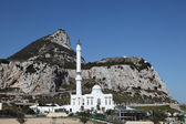 The Ibrahim-al-Ibrahim Mosque in Gibraltar — Stock Photo