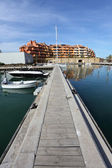 Marina in Sotogrande, Andalusia Spain — Stock Photo