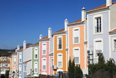 Colorful apartment building in Andalusia, southern Spain — Stock Photo