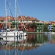 Marina in Sotogrande, Costa del Sol, Andalusia, Spain — Stockfoto