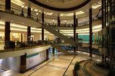 Interno del centro commerciale lagoona in doha, qatar — Foto Stock