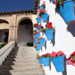 Стоковое фото: Colorful atrium in Cordoba, AndalusiSpain