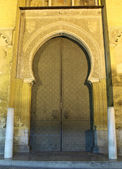 Gate of the medieval Mosque-Cathedral in Cordoba, Andalusia Spain — Stock Photo