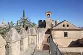 Alcazar of the Christian Monarchs in Cordoba, Andalusia Spain — Stock Photo