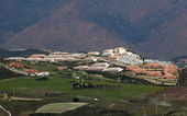 Urbanização na costa del sol, andaluzia, espanha — Foto Stock