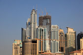 Highrise buildings of the Dubai Marina, United Arab Emirates — Stock Photo