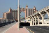 отель атлантис в дубае, объединенные арабские эмираты — Стоковое фото