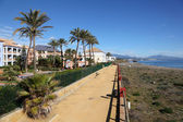 Vacation homes on Costa del Sol, Andalusia Spain — Stock Photo