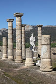 Baleo Claudia - roman ruins in Bolonia, Andalusia, southern Spain — Stock Photo