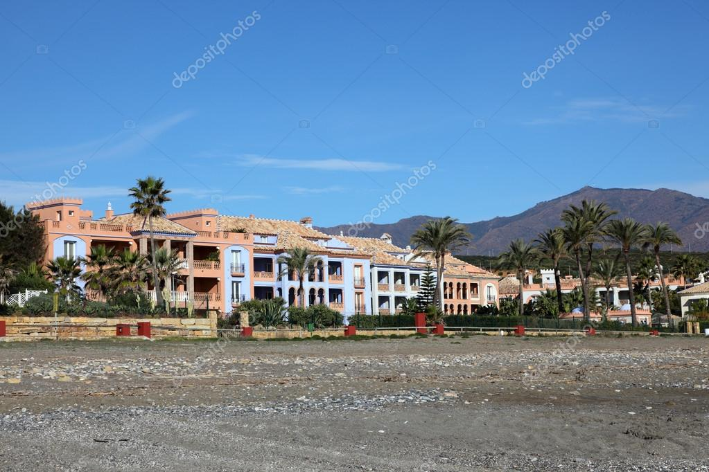 Vacation homes on Costa del Sol, Andalusia Spain — Stock Photo #19950847