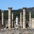 Roman temple ruin in Bolonia, Andalusia, southern Spain - Stok fotoraf