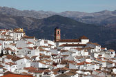 White Andalusian village (pueblo blanco) Algatocin. Province of Malaga, Spain — Stock Photo