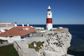 Europa Point lighthouse in Gibraltar — Stock Photo