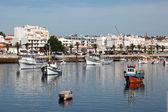 La pesca porto di lagos, algarve portogallo — Foto Stock