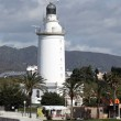 Lighthouse in Malaga, Andalusia Spain — Stock Photo