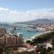 View over the city of Malaga, Andalusia Spain — Stock Photo #23587101