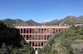 Das aquädukt von nerja, provinz malaga, andalusien spanien — Stockfoto