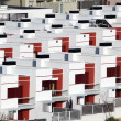 Stock Photo: Residential houses in urbanization in Spain