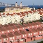 Urbanization in Algeciras. Province of Cadiz, Andalusia Spain — Stock Photo