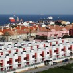 Urbanisation in Algeciras. Province of Cadiz, Andalusia Spain — Stock Photo