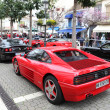 Ferrari supercars parked in the street of Estepona, Andalusia Spain - Stock Photo